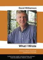 What I Wrote - David Williamson